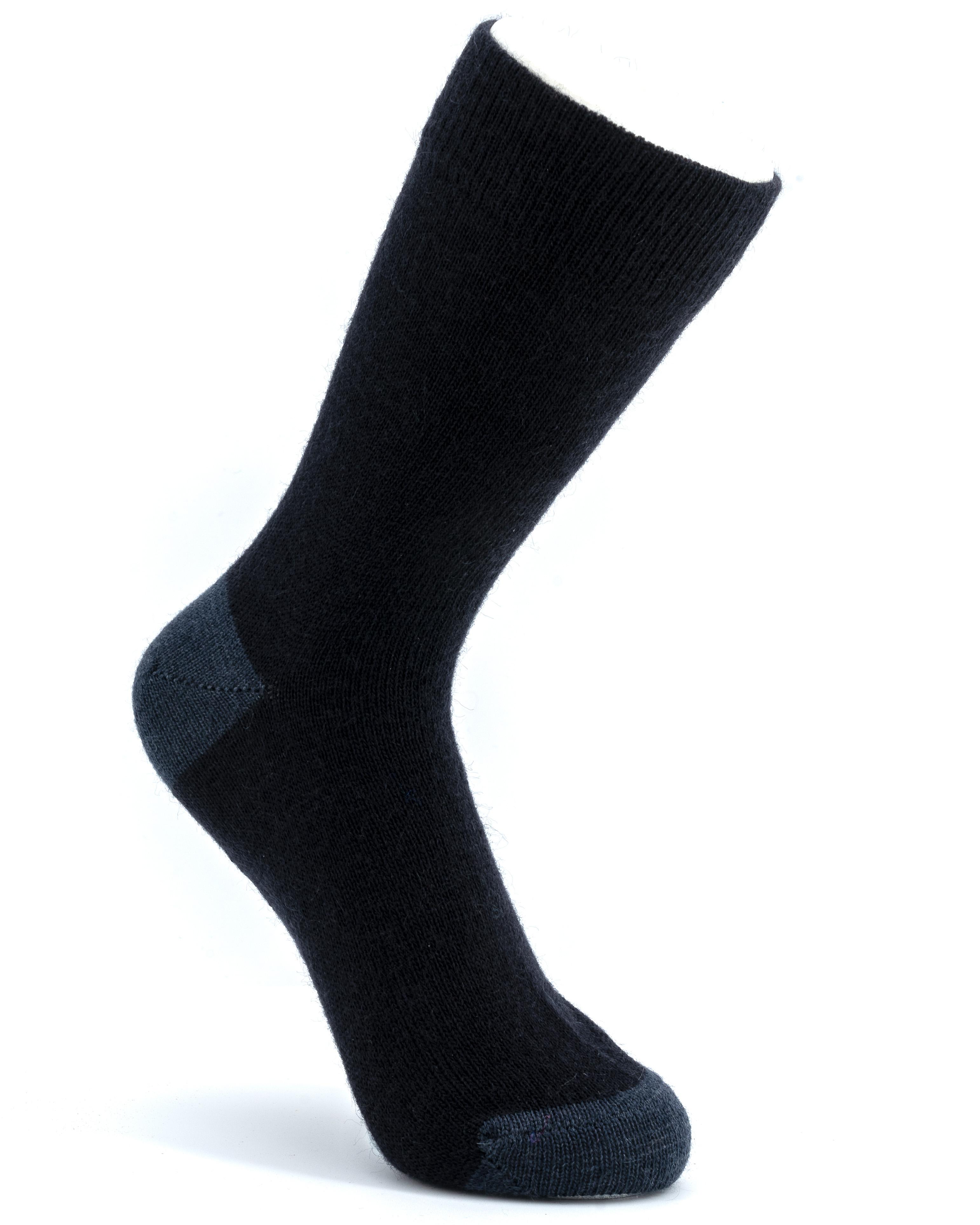 men's formal classic crew mohair sock