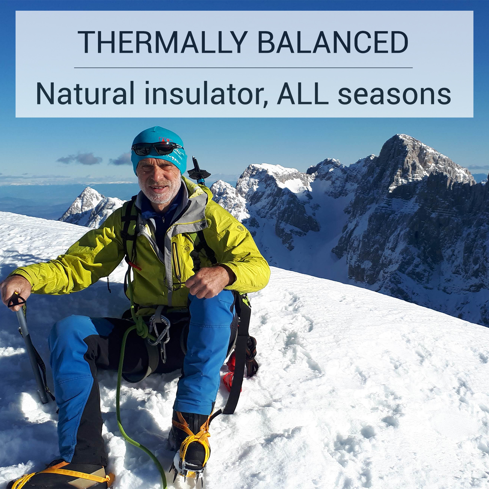 Thermally balanced Hiking